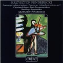 Concerto per Violino Ed O - CD Audio di Krzysztof Penderecki