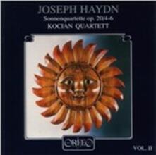 Sonnenquartette vol.2 - CD Audio di Franz Joseph Haydn