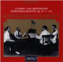 Quartetto per Archi op.59 - CD Audio di Ludwig van Beethoven
