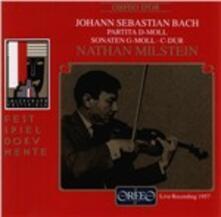 Sonate G - Moll - CD Audio di Johann Sebastian Bach
