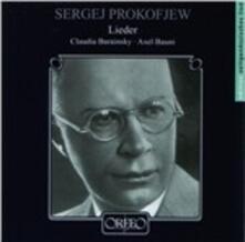 Lieder - CD Audio di Sergej Sergeevic Prokofiev