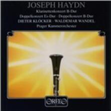 Klarinetconcert in Bes - CD Audio di Franz Joseph Haydn