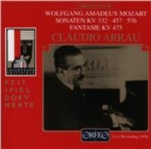Sonate Kv 332 - 457 - 576 - CD Audio di Wolfgang Amadeus Mozart