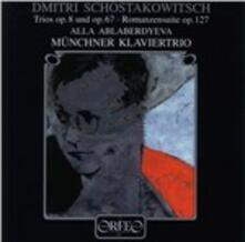 Trii con Pianoforte N.1, N.2 - CD Audio di Dmitri Shostakovich
