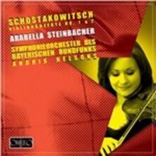 Concerti per Violino N.1, N.2 - CD Audio di Dmitri Shostakovich