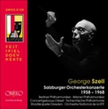 Salzburger Orchesterkonze - CD Audio