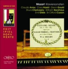 Sonate per Pianoforte - CD Audio di Wolfgang Amadeus Mozart