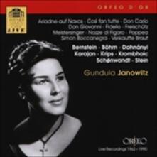 Gundula Janowitz - CD Audio di Ludwig van Beethoven,Claudio Monteverdi