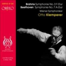 Symphony No.3 & No.7 - CD Audio di Ludwig van Beethoven,Johannes Brahms