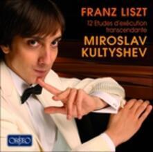 12 Studi D'esecuzione Trascendentale - CD Audio di Franz Liszt