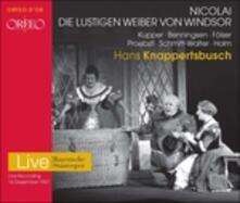 Die Lustigen Weiber Von.. - CD Audio di Otto Nicolai