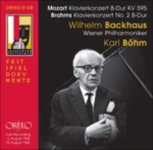 Piano Concerto - CD Audio di Johannes Brahms,Wolfgang Amadeus Mozart