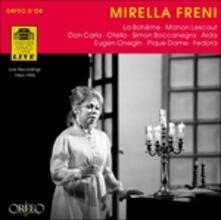 Recital. La Boheme - Manon L - CD Audio di Mirella Freni