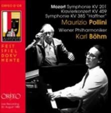 Sinfonie N.29, N.35 - CD Audio di Wolfgang Amadeus Mozart