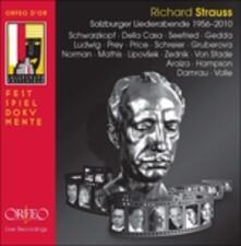 Salzburg Lieder - CD Audio di Richard Strauss