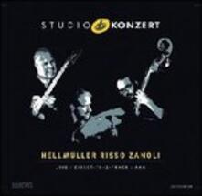 Studio Konzert - Vinile LP di Stefano Risso,Franz Hellmüller,Marco Zanoli