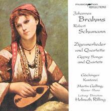 Zigeunerlieder & Quratet - CD Audio di Johannes Brahms