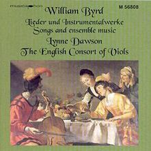 Lieder & Instruments - CD Audio di William Byrd