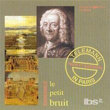 1e Quatuor D - Dur - Suite V - CD Audio di Georg Philipp Telemann
