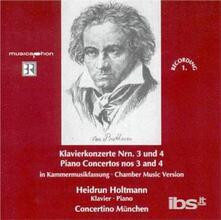 Concerti per Pianoforte N.3, N.4 - CD Audio di Ludwig van Beethoven