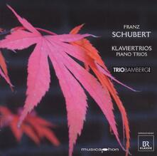 Klaviertrios - CD Audio di Franz Schubert