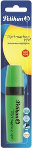 Cartoleria Evidenziatore premium Pelikan Textmarker. Inchiostro verde ultra flourescente. Confezione da 1 pezzo Pelikan