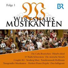 Wirtshaus Musikanten Br-F - CD Audio
