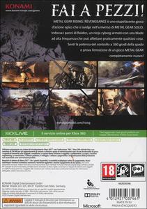 Videogioco Metal Gear Rising: Revengeance Xbox 360 10