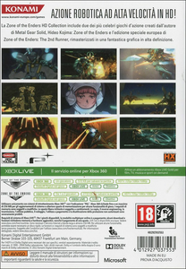 Videogioco Zone of Enders & Anubis HD Collection Xbox 360 10