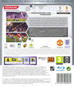Videogioco Pro Evolution Soccer 2011 Platinum PlayStation3 1