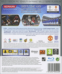 Videogioco Pro Evolution Soccer 2012 Platinum PlayStation3 1