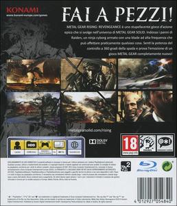 Videogioco Metal Gear Rising: Revengeance PlayStation3 10