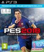 Videogiochi PlayStation3 PES 2018 Pro Evolution Soccer Premium Edition - PS3