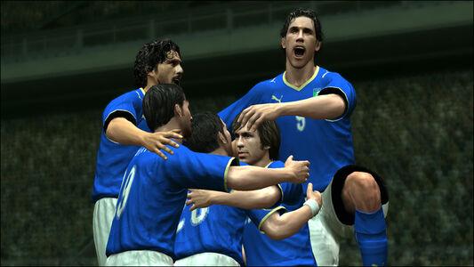 Videogioco Pro Evolution Soccer 2009 Sony PSP 7