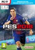 Videogiochi Personal Computer PES 2018 Pro Evolution Soccer Premium Edition - PC