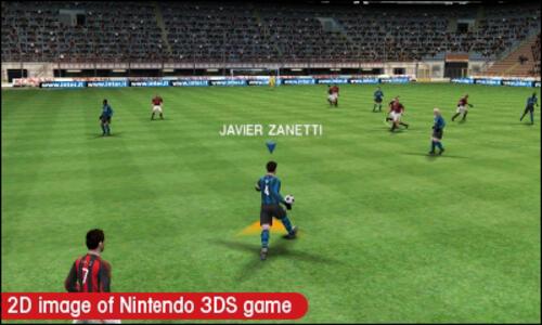 Pro Evolution Soccer 2011 3D - 3