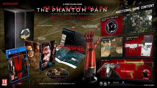 Videogioco Metal Gear Solid V: The Phantom Pain Collector's Edition PlayStation4 1
