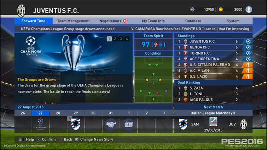PES 2016 Pro Evolution Soccer Day One Edition - 11