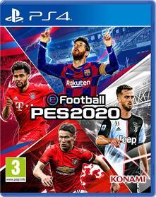 Efootball PES 2020 Standard Edition EU (Multilingue - Italiano incluso) - PS4