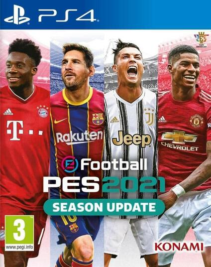 Efootball Pes 2021 Season Update (Import EU, ITA incluso) Playstation 4