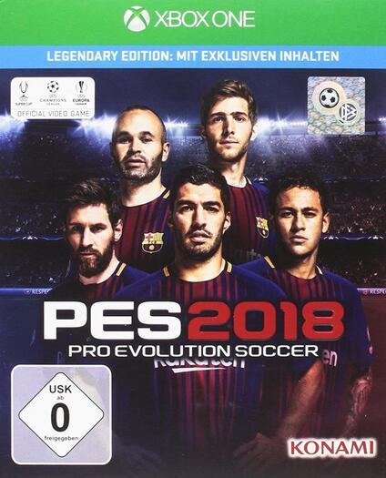 PES 2018 Legendary Edition Xbox One [Edizione: Germania]