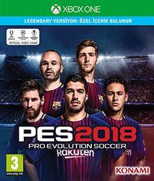 PES 2018 Premium Edition, Xbox One