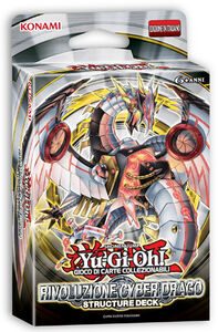 Giocattolo Yu-Gi-Oh! Starter Deck Rivoluz. Cyber Drago Konami 0