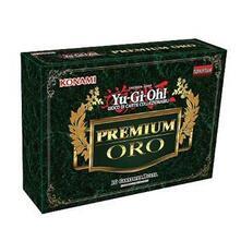 Yu-Gi-Oh! Premium Oro unlimited pacchetto con busta 10 carte (IT)