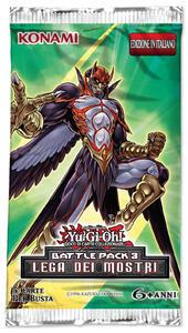 Yu-Gi-Oh! Busta 5 carte Battle Pack 3. Lega dei mostri - ITA - 3