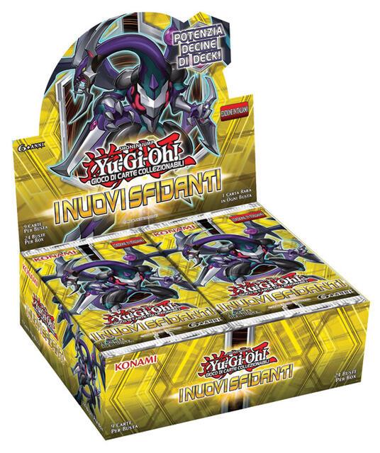 Yu-Gi-Oh! Busta 9 carte I nuovi sfidanti. Espansione - ITA - 3