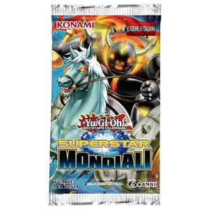 Giocattolo Yu-Gi-Oh! Busta 5 carte Superstar mondiali. Espansione - ITA Konami 0