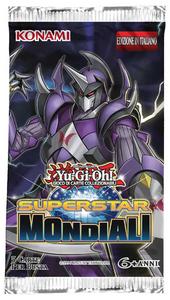 Giocattolo Yu-Gi-Oh! Busta 5 carte Superstar mondiali. Espansione - ITA Konami 1