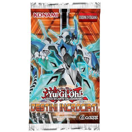 Yu-Gi-Oh! Busta 9 carte Destini incrociati. Espansione - ITA