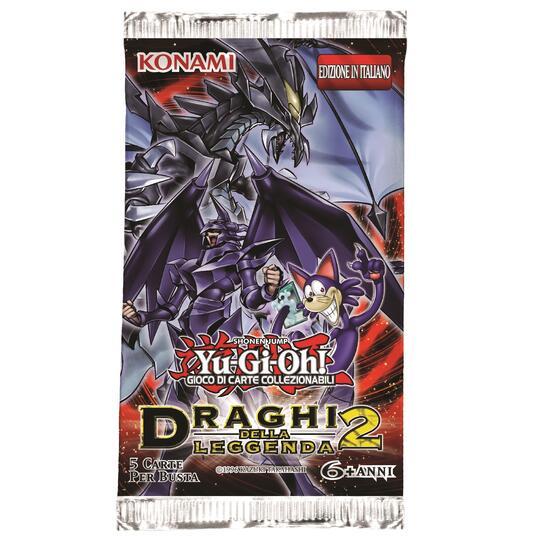 Yu-Gi-Oh! Busta 5 carte Draghi della leggenda 2. Espansione - ITA - 2